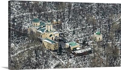 Moscow, Russia. Danilovskoe Cemetery