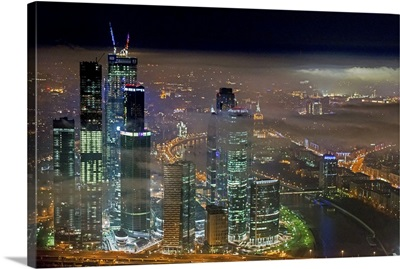 Moscow, Russia. 'Moscow-City' Moscow International Business Center
