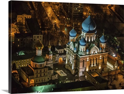 Moscow, Russia. Nikolo-Perervinsky Monastery, Cathedral of Iberian