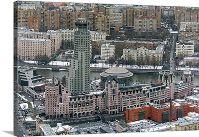 Moscow, Russia. Riverside Towers Business Center
