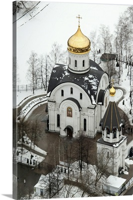 Moscow, Russia. The Church in honour of Blessed Euphrosyne of Moscow