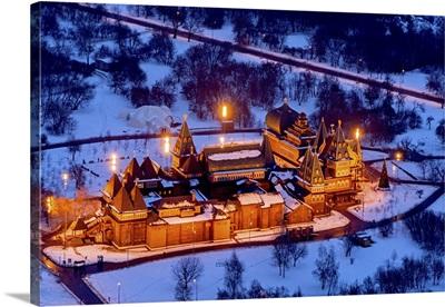 Moscow, Russia. The Palace of Tsar Aleksey I Romanov (Wedding Palace)