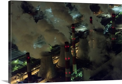 Moscow, Russia. Thermal power station No. 20.
