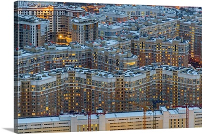 Moscow, Russia. 'Tsaritsyno' Residential Complex.