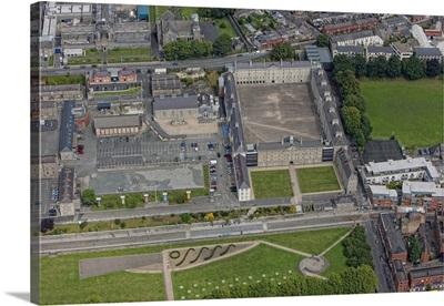 National Museum of Ireland, Dublin, Ireland - Aerial Photograph