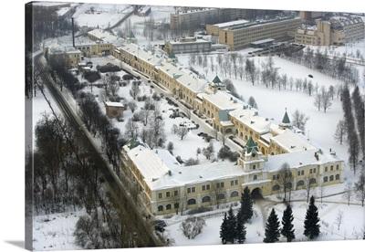 Palace guard barracks, Pushkin (former Tsarskoe Selo), Leningrad Oblast