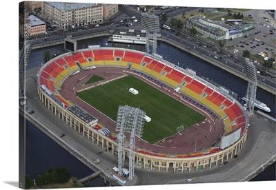 Petrovskii Stadium, St. Petersburg, Russia.