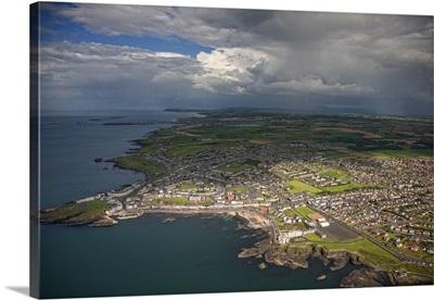 Portstewart Strand, Ireland - Aerial Photograph