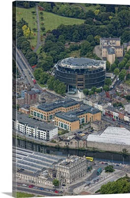 Round Courts, Dublin, Ireland - Aerial Photograph