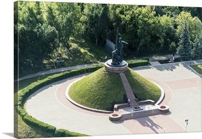 Russia, Chuvash Republic. Cheboksary. 'Eternal Glory to the Heroes