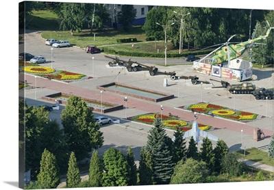 Russia, Chuvash Republic. Cheboksary. Memorial Park 'Victory'.