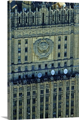 Russia, Moscow. Ministry of Foreign Affairs Building, Seven Sisters