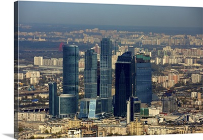 Russia, Moscow. Moscow International Business Center