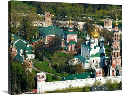 Russia, Moscow. Novodevichy Convent.