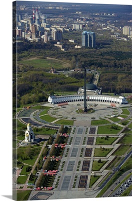 Russia, Moscow. Victory Park on Poklonnaya Gora (Hill).