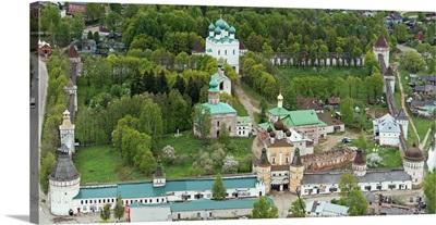 Russia, Yaroslavl region. Rostov Borisoglebsky Monastery.