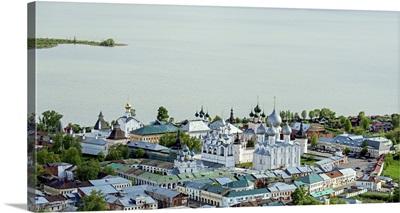 Russia, Yaroslavl region. Rostov. Rostov Kremlin.