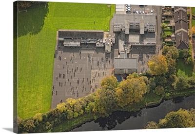 Samson and Goliath, Belfast - Aerial Photograph