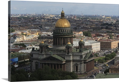 St. Isaac Cathedral, St. Petersburg, Russia.
