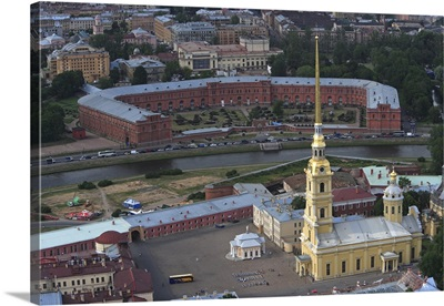 St Peter and St Paul Fortress in St. Peterburg, Russia.