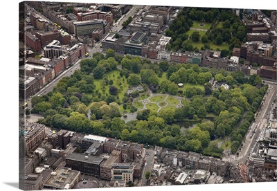 St Stephens Green, Dun Laoghaire, Ireland - Aerial Photograph