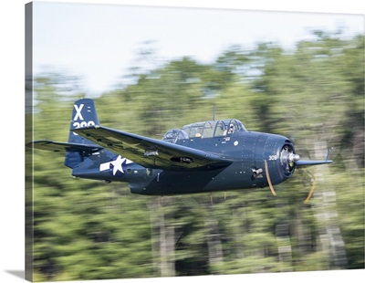 TBM Avenger From Texas Flying Legends Museum At Wings Over Wiscasset