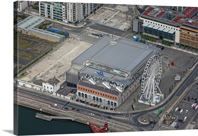 The O2 Dublin, Dublin, Ireland - Aerial Photograph