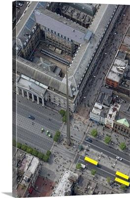 The Spire, Dublin, Ireland - Aerial Photograph