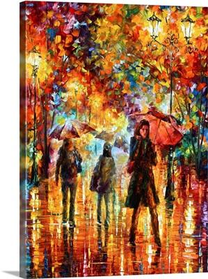 Hesitation of the Rain