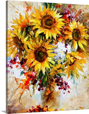 Sunflowers of Happiness