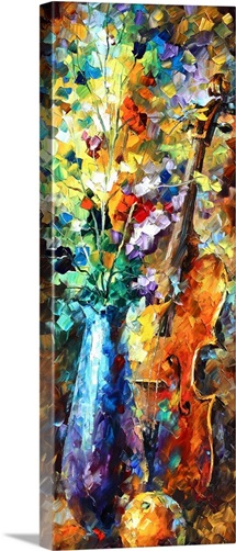 Flowers and Violin