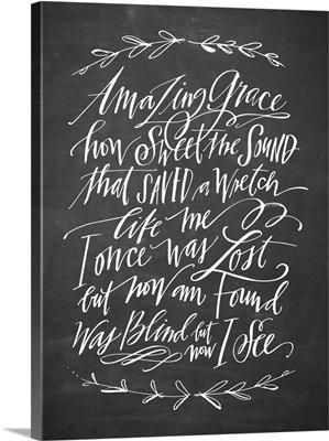 Amazing Grace Laurel - Blackboard