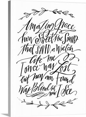 Amazing Grace Laurel - White
