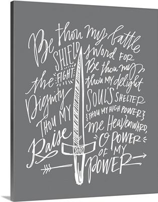 Be Thou My Shield - Grey Grey