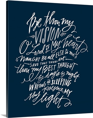 Be Thou My Vision - Nautical Navy