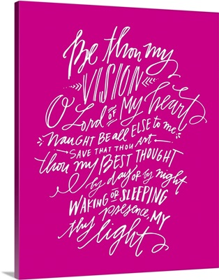 Be Thou My Vision - Popular Pink