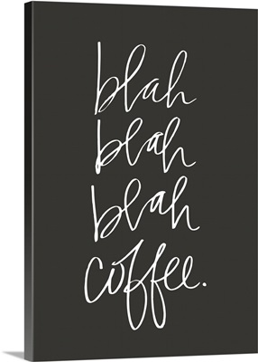 Blah Coffee - Classic Charcoal