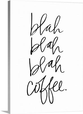 Blah Coffee - White