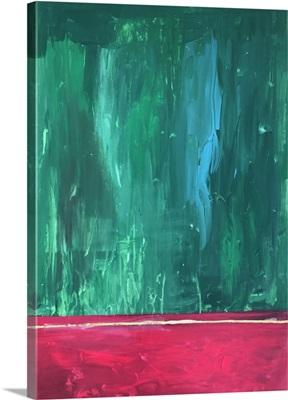 Christmas Cafe Abstract
