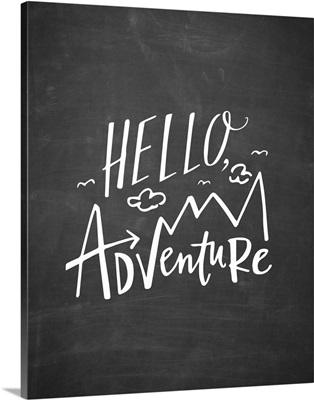 Hello Adventure - Blackboard