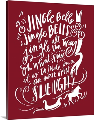 Jingle Bells - Holiday Red