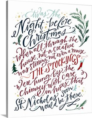 Night Before Christmas - White