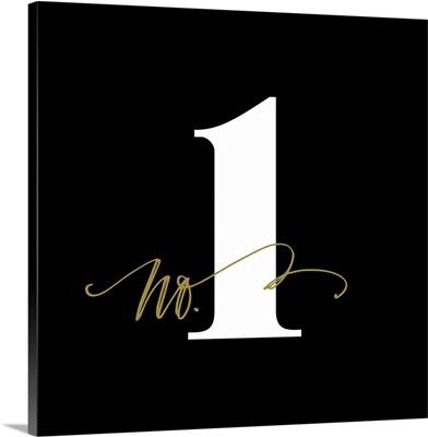 No.1 - Black
