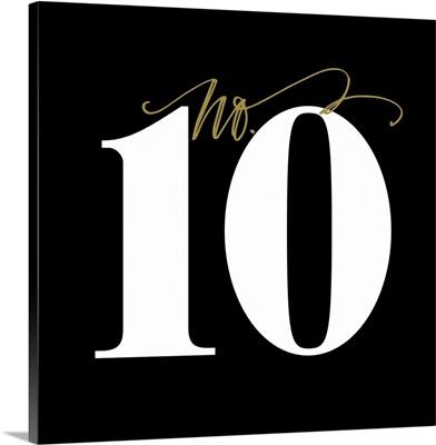 No.10 - Black