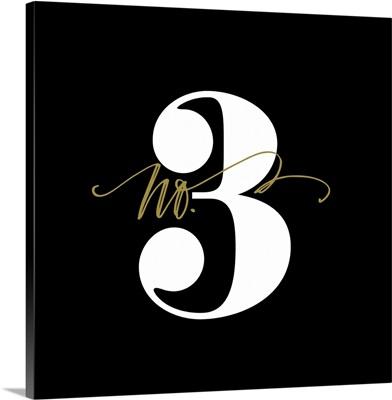 No.3 - Black