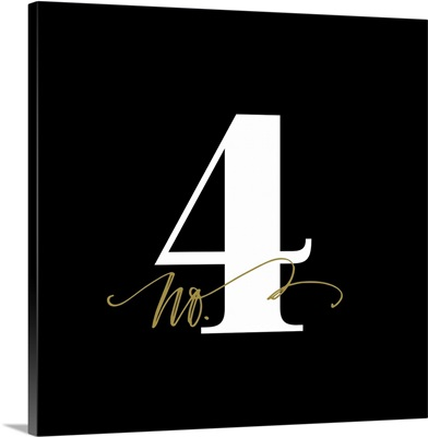 No.4 - Black