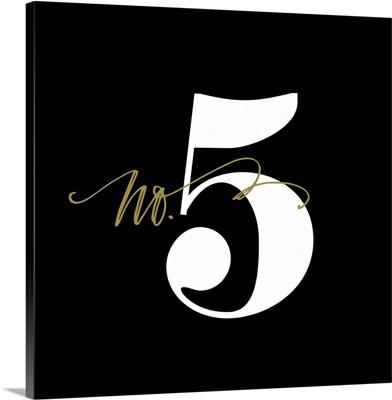 No.5 - Black