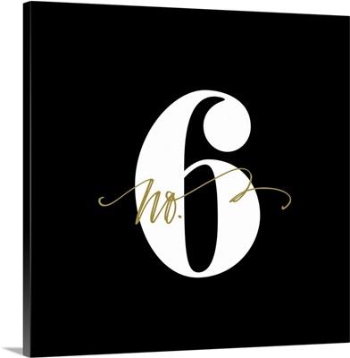 No.6 - Black