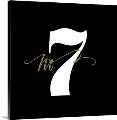 No.7 - Black