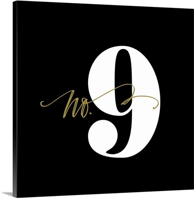 No.9 - Black